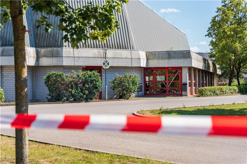 Corona Einheiten Ziehen In Die Kreissporthalle In Balingen Um Ab Montag Ist Geoffnet