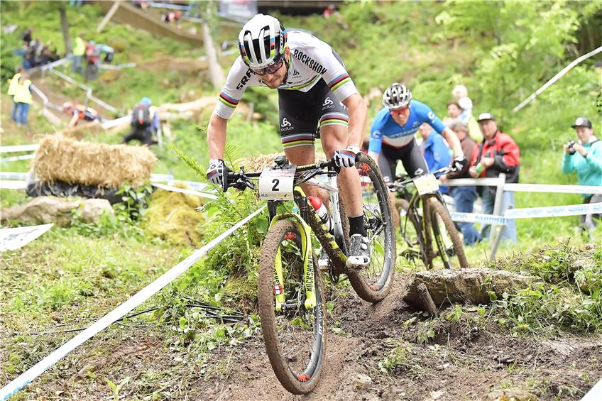 Mountainbiker messen sich in Albstadt: Weltcup-Favoriten in toller Frühform